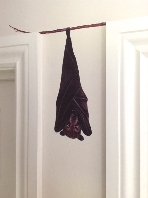 Image of Brian the Fruit Bat ~ Wall sticker decal