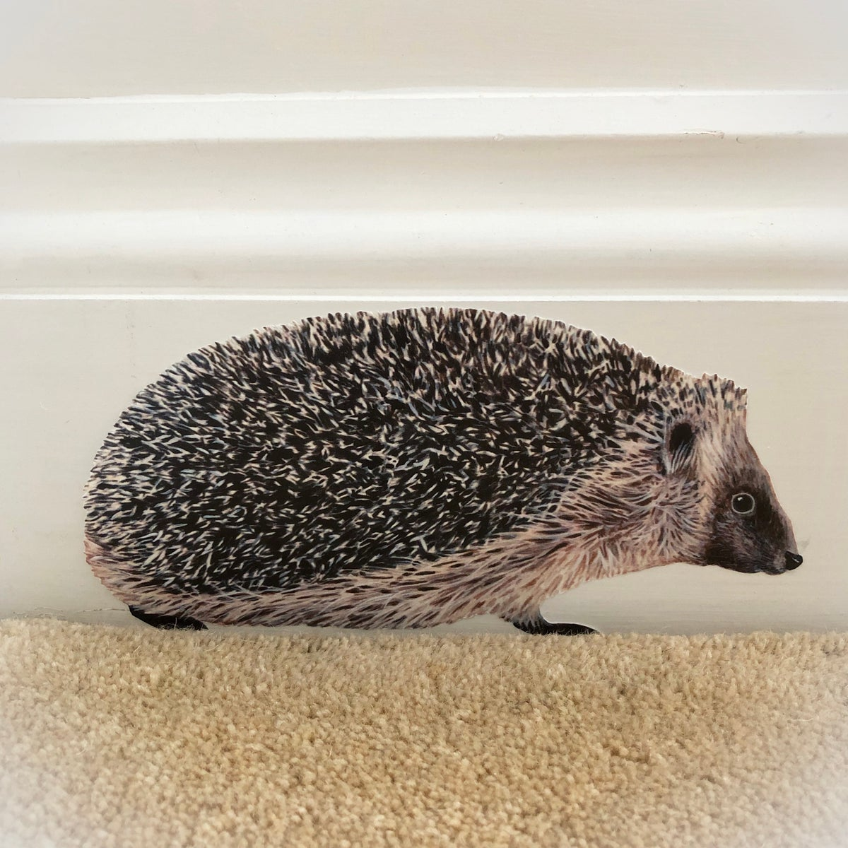 Image of Hobbes the Hedgehog ~ Wall sticker