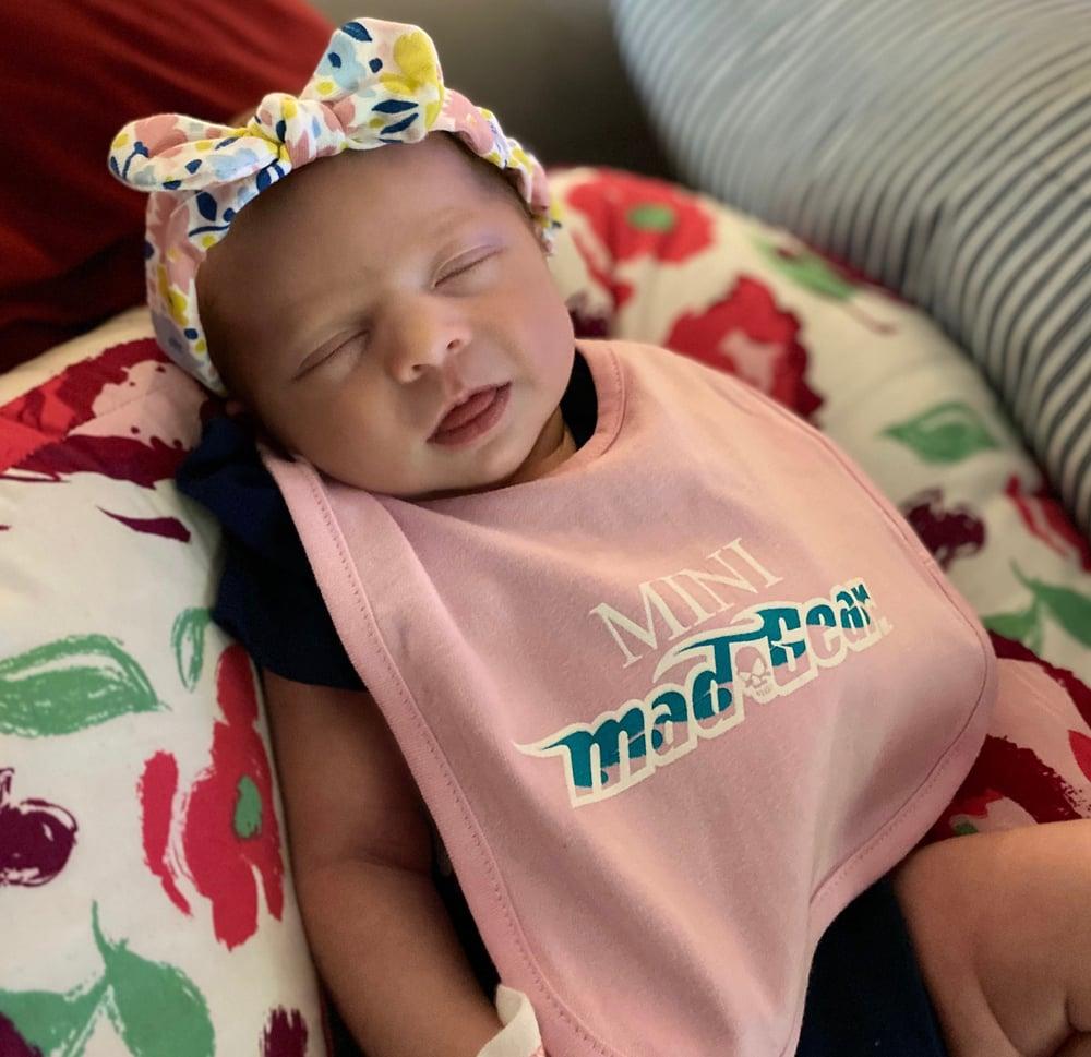 Image of Baby Bibs - Pink or Black