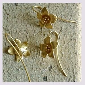 Image of Boucle d'oreilles : Flowers