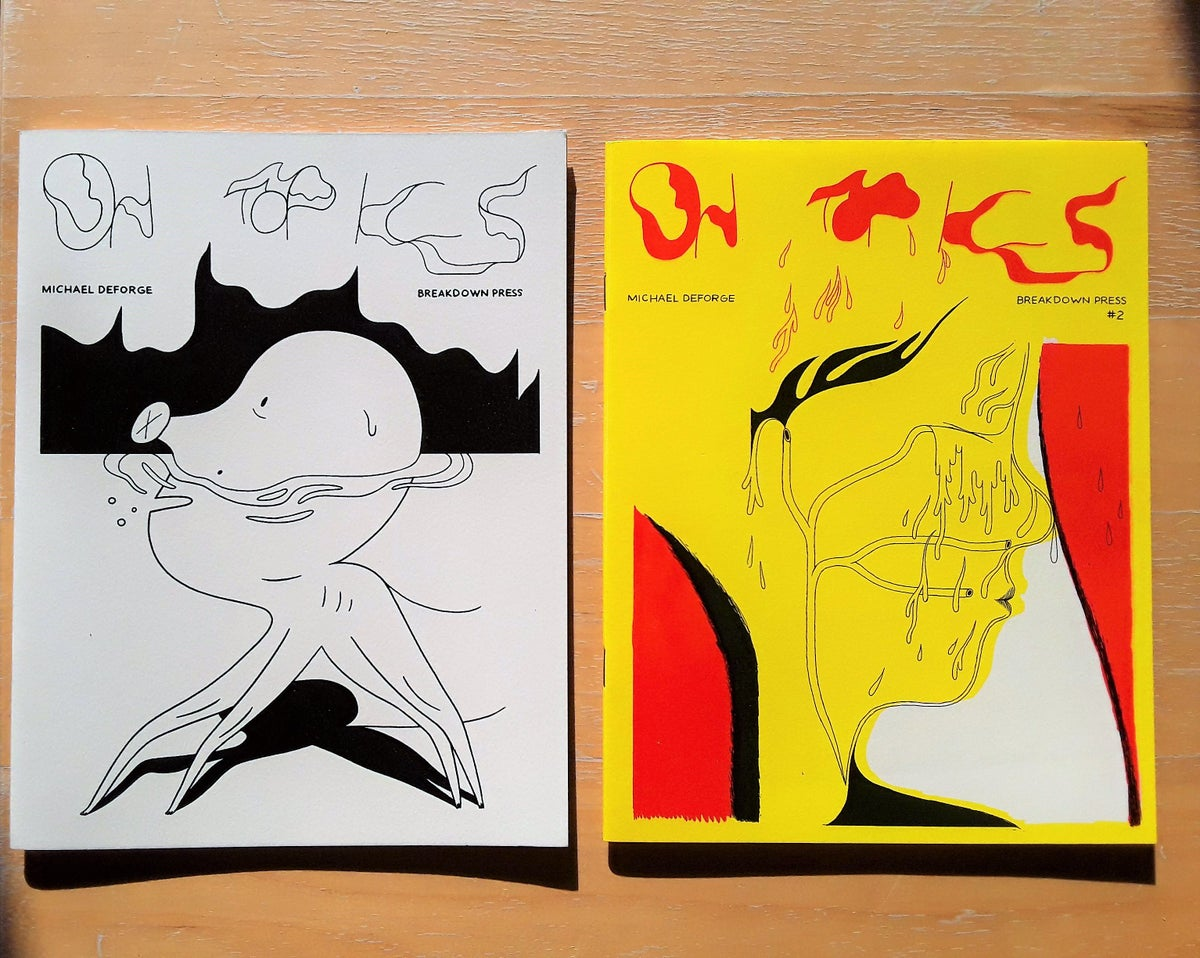 Image of On Topics #1 & 2 by Michael DeForge