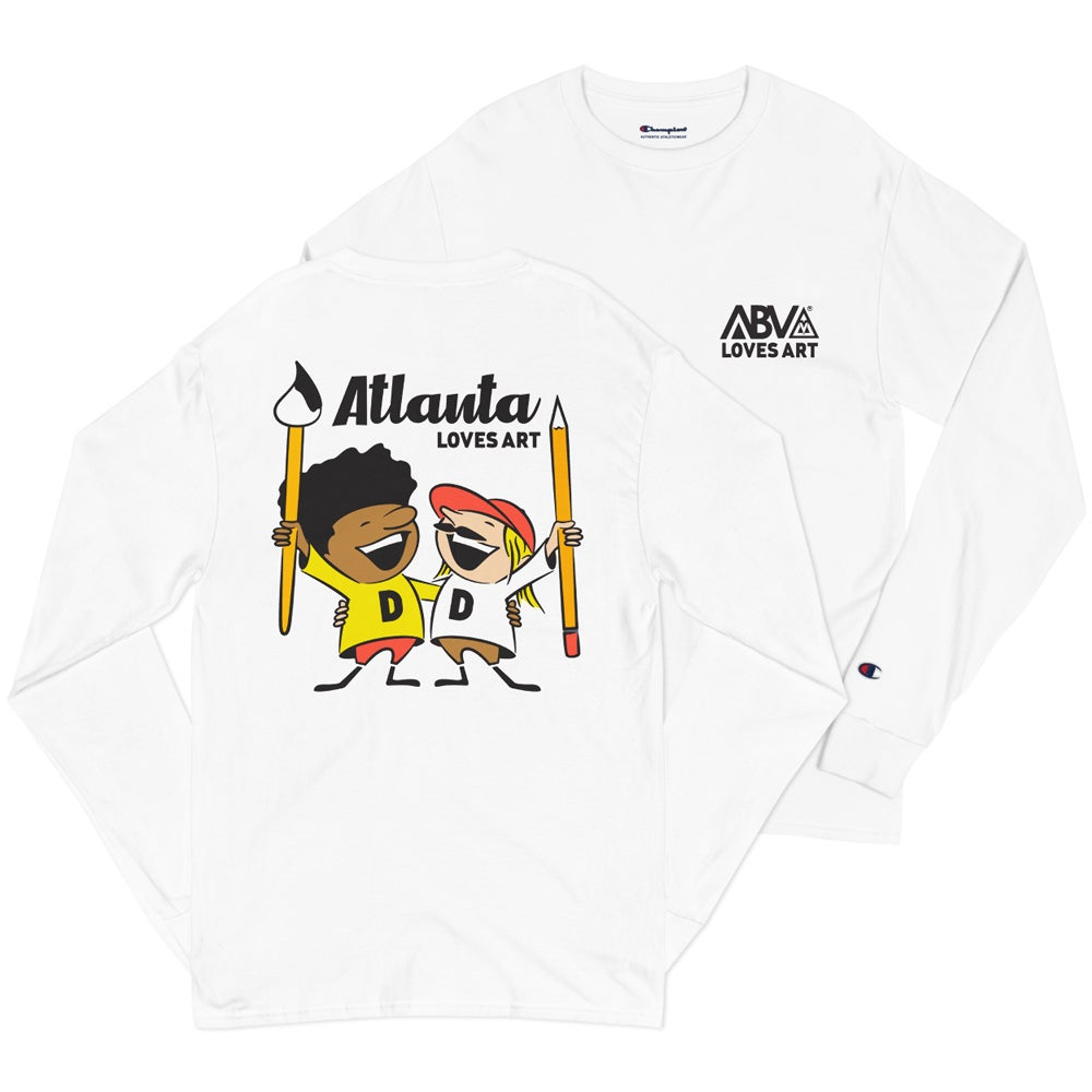 Image of Atlanta Loves Art (Long Sleeve)