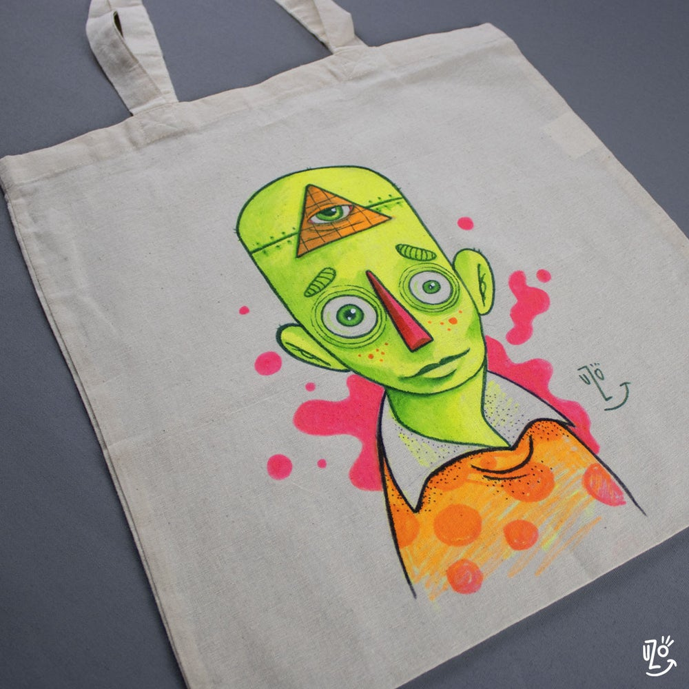 Original Tote Bag - Neon Dude