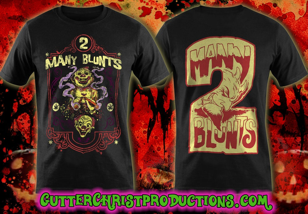 Image of 2 MANY BLUNTS YOUNG MICHAEL MYERS T SHIRT (IN STOCK)