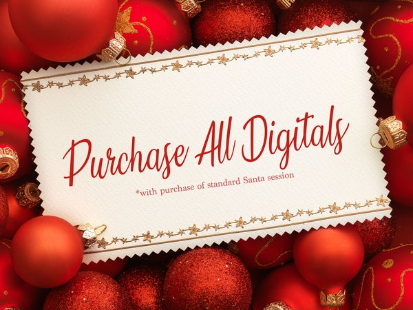 Image of PRE-PURCHASE All Digital Files