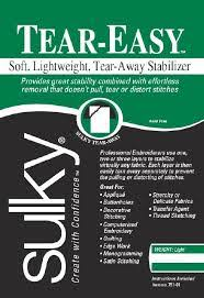 Image of Sulky Tear-Easy Stabilizer- 1 Yard Package