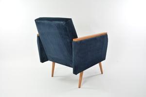 Image of Fauteuils carrés Matisse bleu