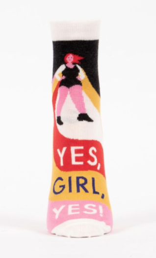 Image of Yes, Girl, Yes Ankle Socks