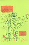 Image of Evil Puppeteer Risograph print