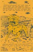 Image of Junkyard Dog Risograph print