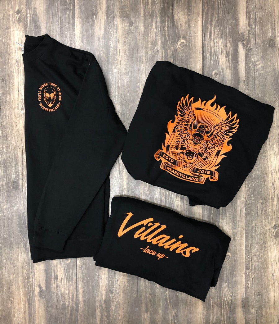 Image of HALLOWEEN LIMITED EDITION CREWNECKS