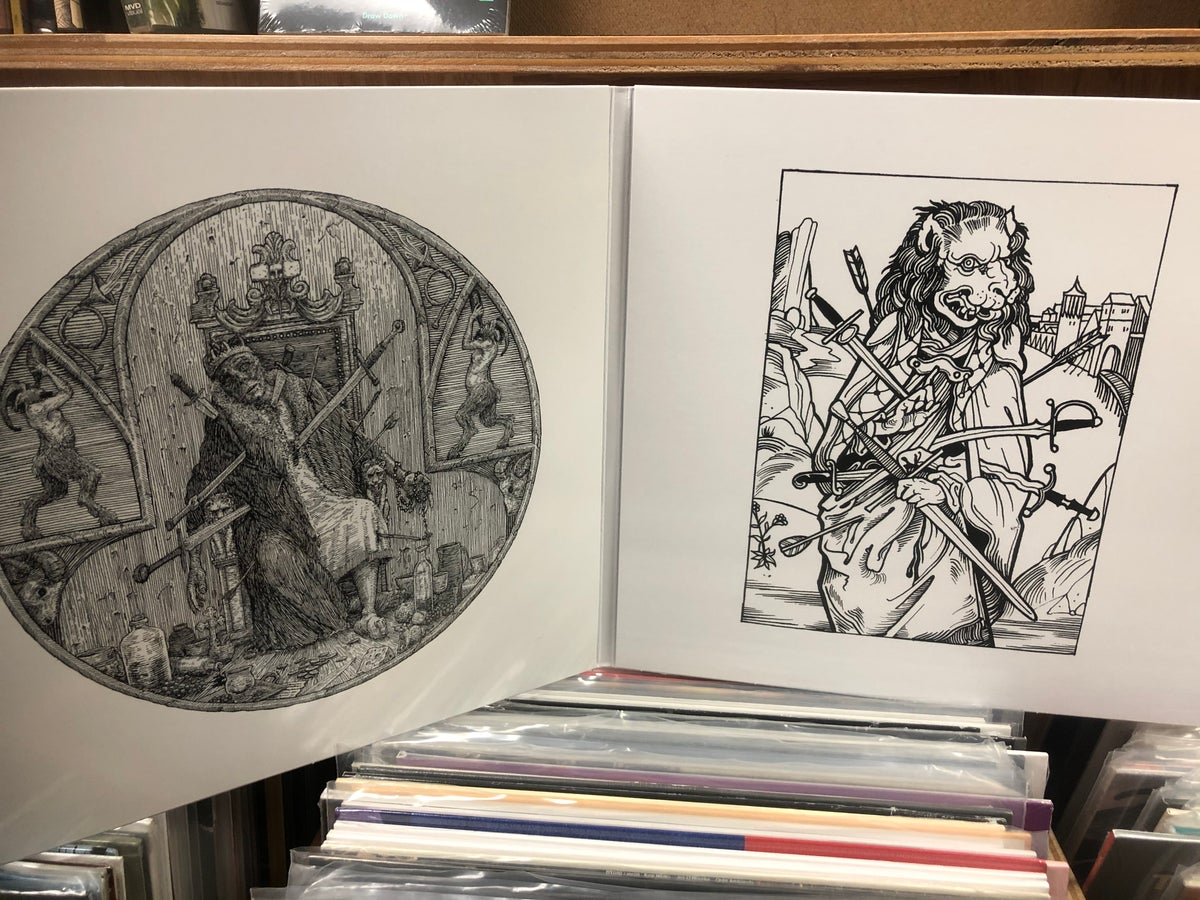 """Image of [RSR 025] Chained to the Bottom of the Ocean """"The Vestige"""" 2xLP"""