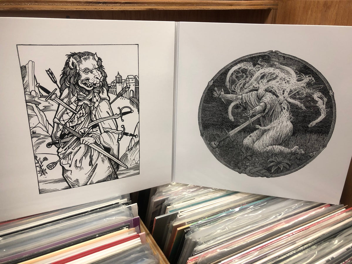 "Image of [RSR 025] Chained to the Bottom of the Ocean ""The Vestige"" 2xLP"