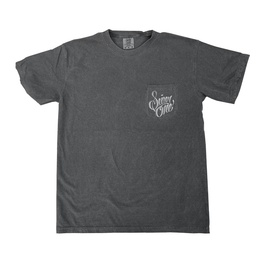 Image of SEIZER ONE SCRIPT TEE