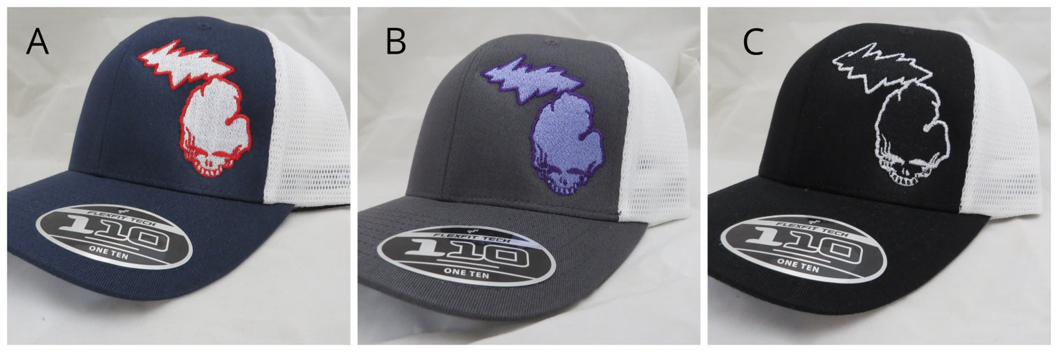 Image of Trucker cap Grateful Michigan