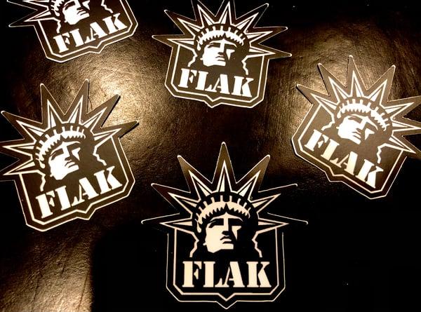 Image of Lady Liberty Flak
