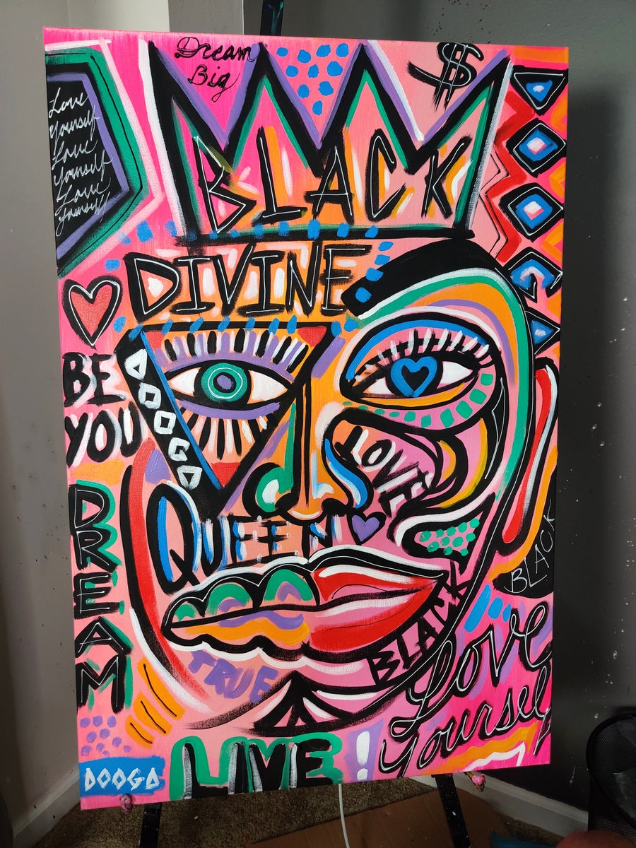Image of Divine - Canvas Print