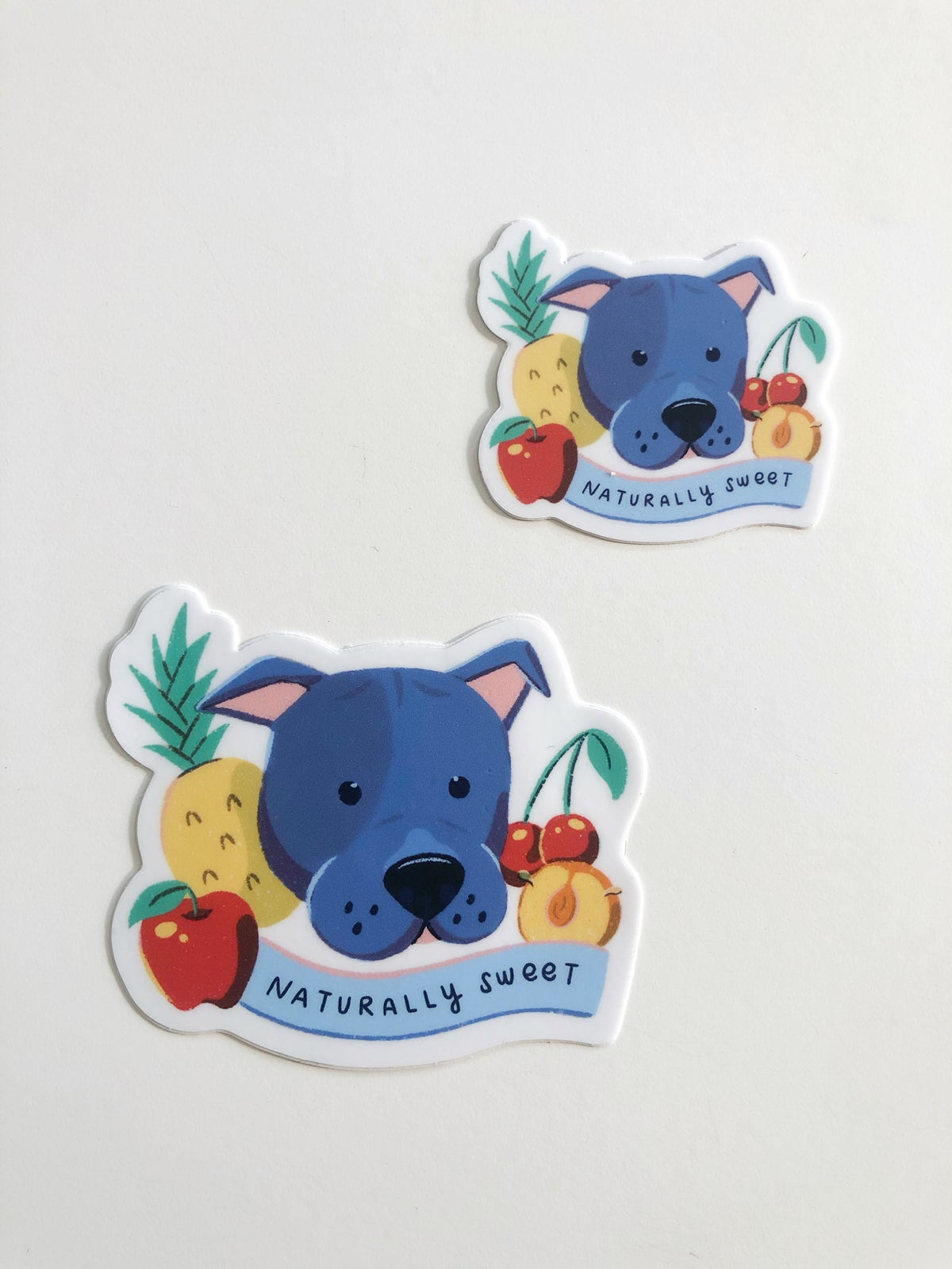 """Image of """"Naturally Sweet"""" Pit Bull Sticker"""