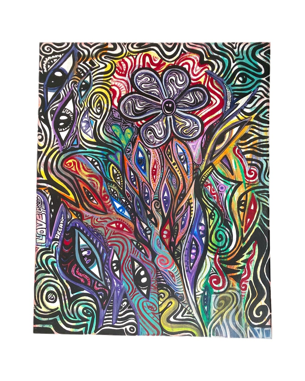 "Image of ""Divine Intervention"" Original Canvas (16 x 20)"