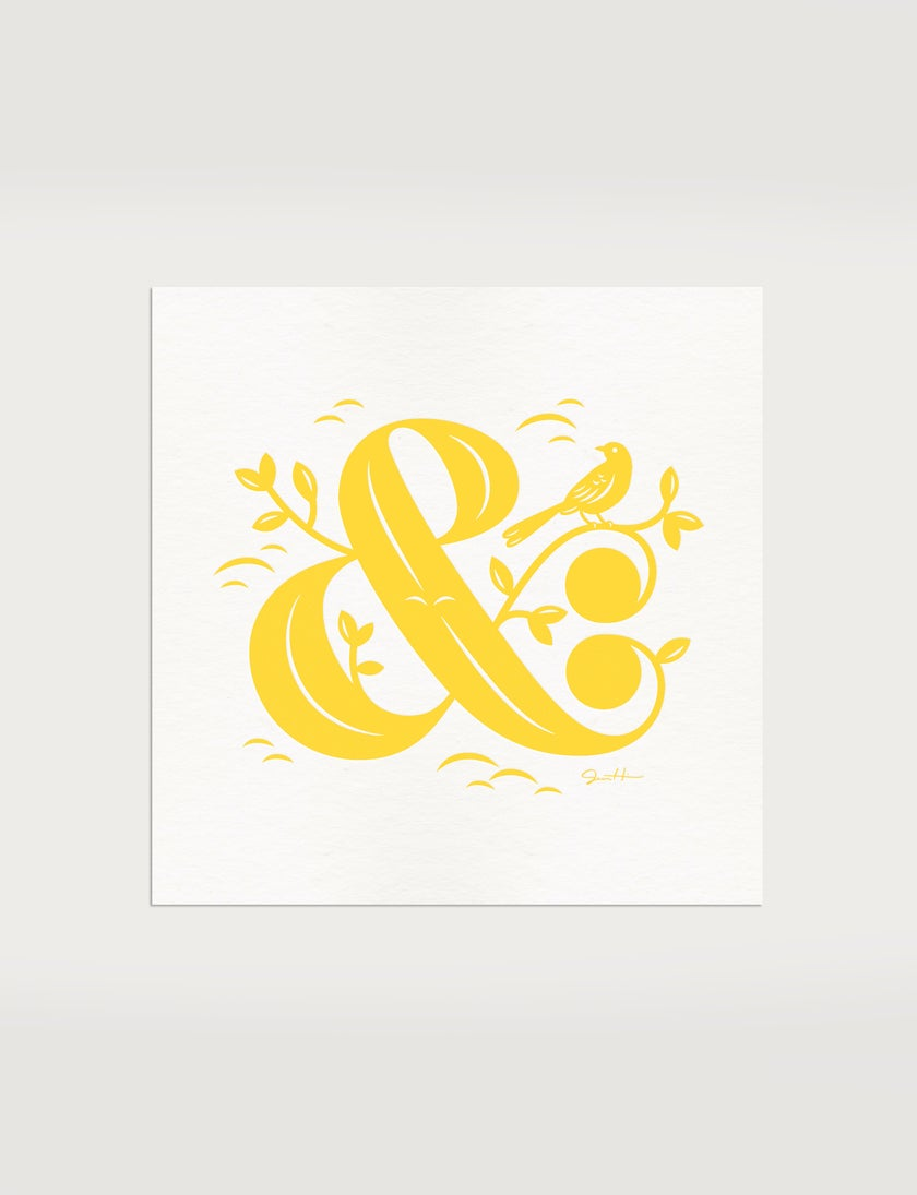 Alphabirds Ampersand