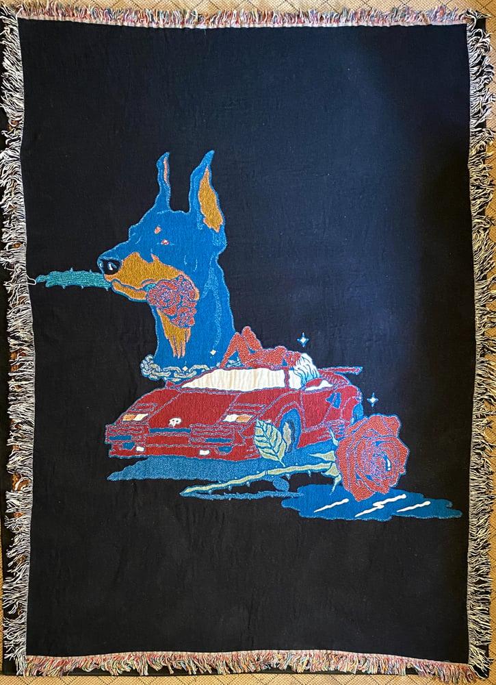 Image of Casanova woven blanket PREORDER