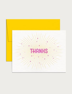 Image of Thanks Card