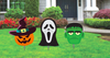 HALLOWEEN YARD SIGNS - 3PK