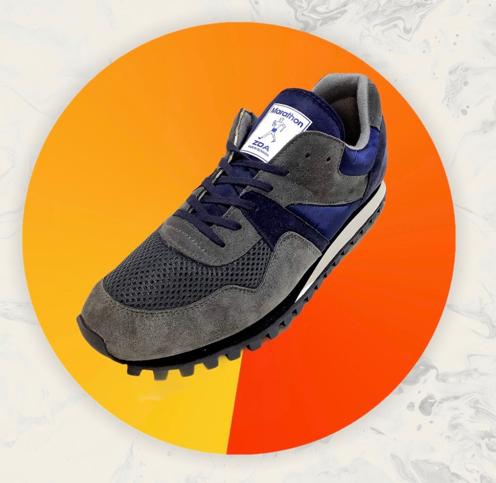 Image of ZDA marathon 88 Olympic vintage retro rurnning shoes made in Slovakia