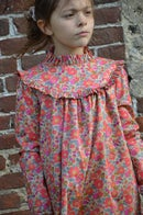 Image 2 of Robe liberty betsy fluo thé col montant
