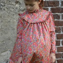 Image 1 of Robe liberty betsy fluo thé col montant