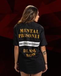 MOSTRO - CAMICIA MENTAL PRISONER BLACK - HONIRO STORE