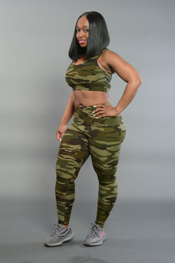 Image of Camo One Size Leggings