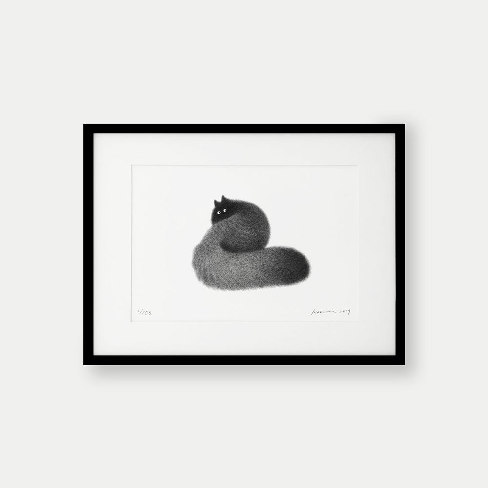 Image of Kitty No.21 – 39x28cm Limited Edition Print