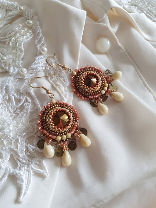 Image of Boucles d'oreilles SO CUTE chocolat