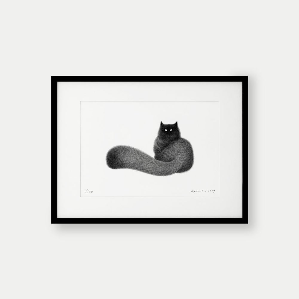 Image of Kitty No.28 – 39x28cm Limited Edition Print