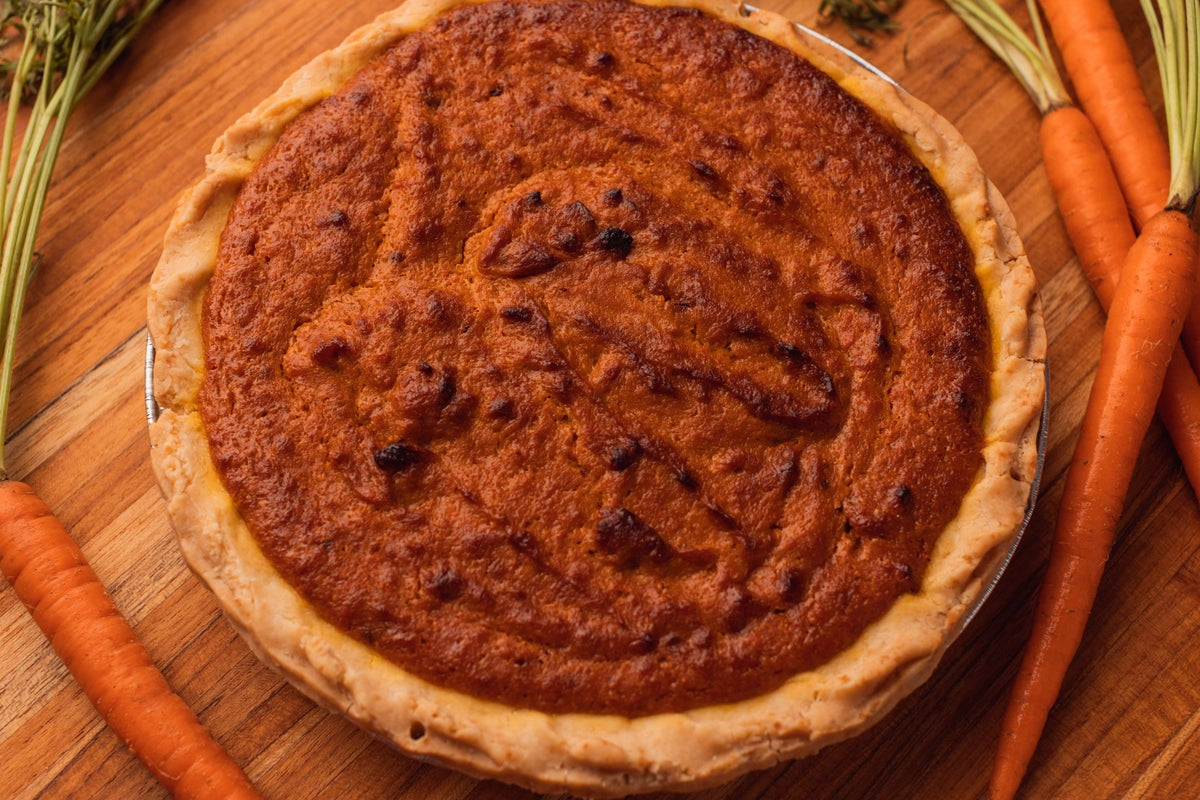 Image of Carrot Soufflé Pie