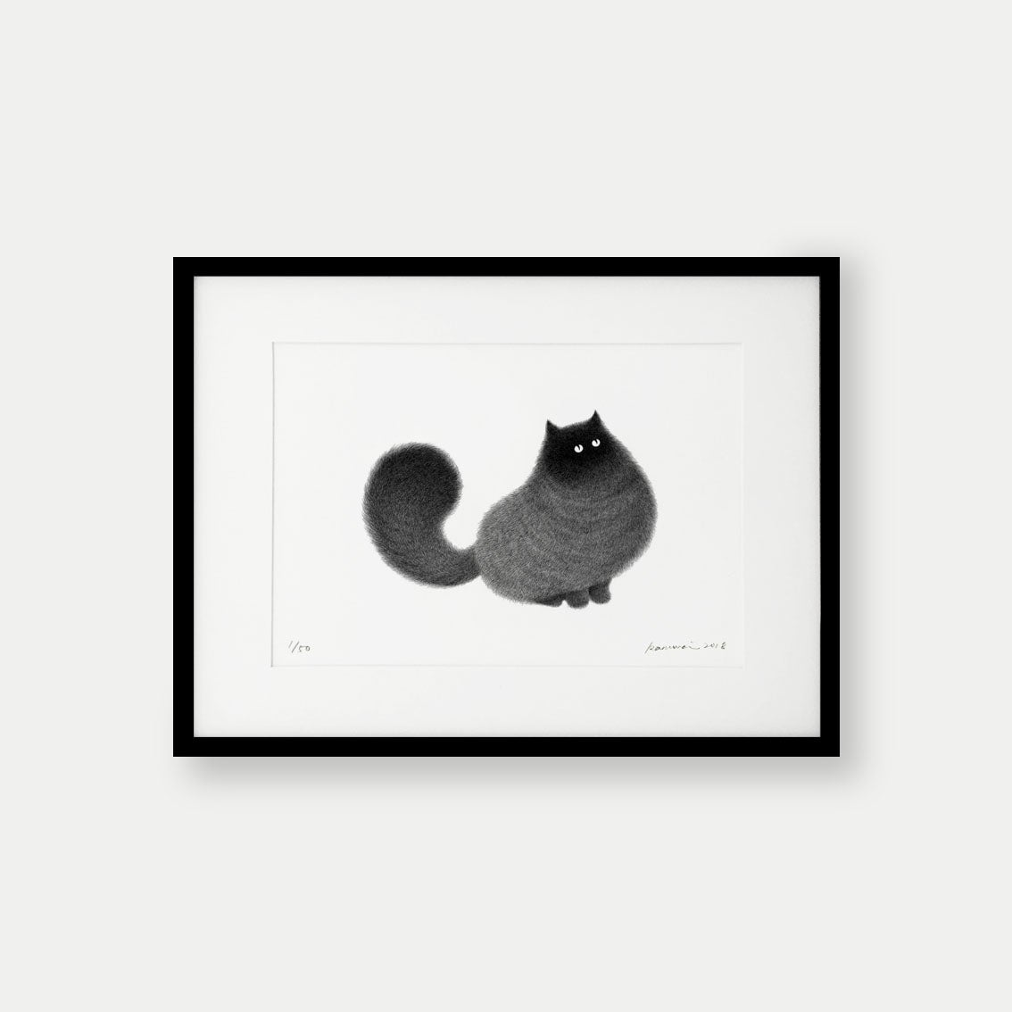 Image of Kitty No.31 – A3 Limited Edition Print