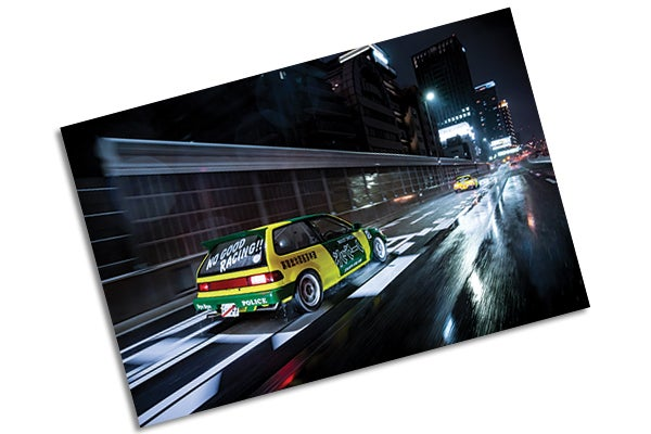 Image of The Chronicles Limited Edition Print: NO GOOD RACING EF9