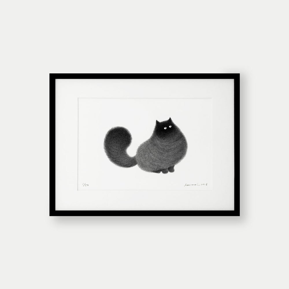 Image of Kitty No.31 – A4 Limited Edition Print