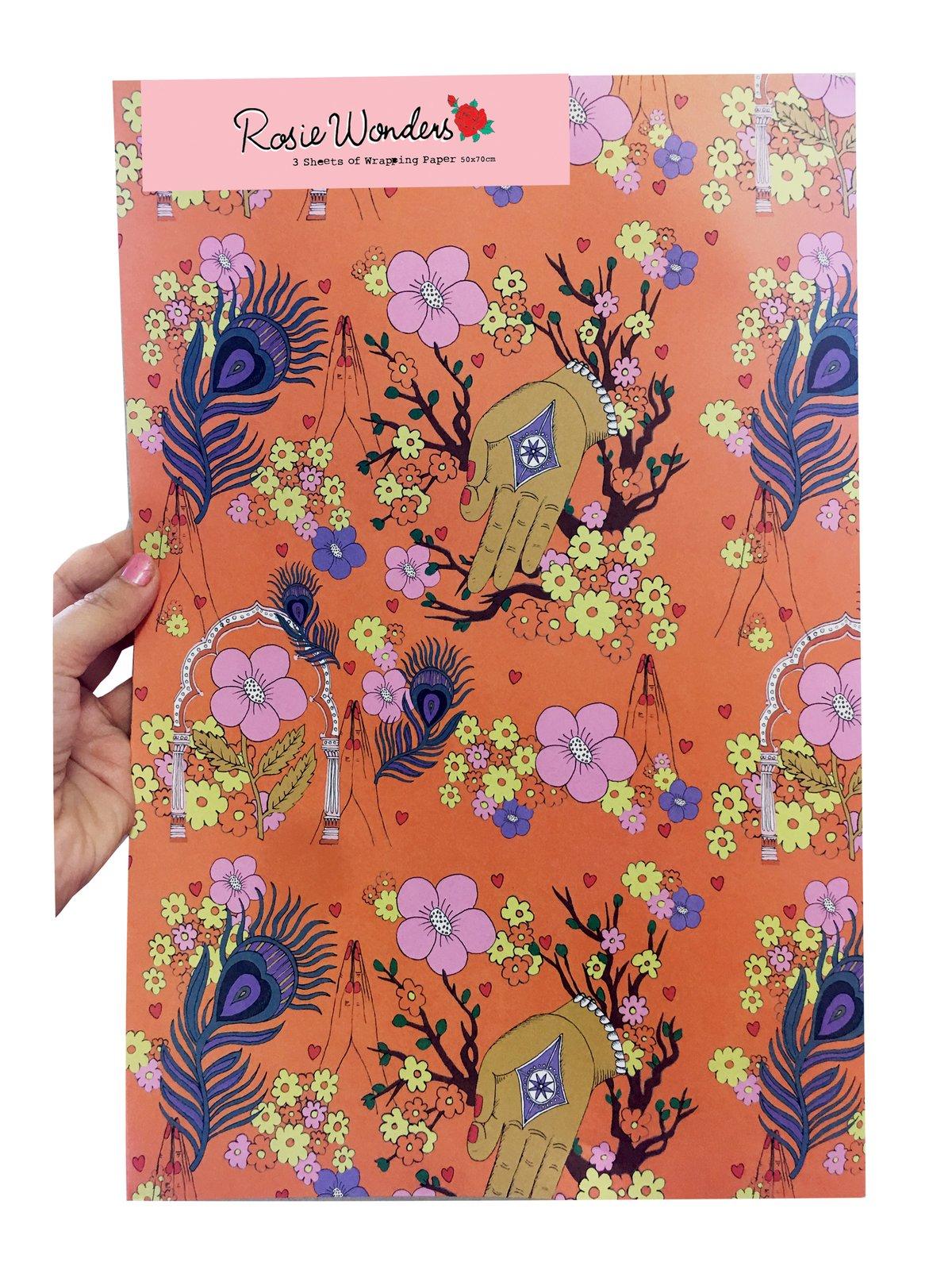 Namaste Wrapping Paper