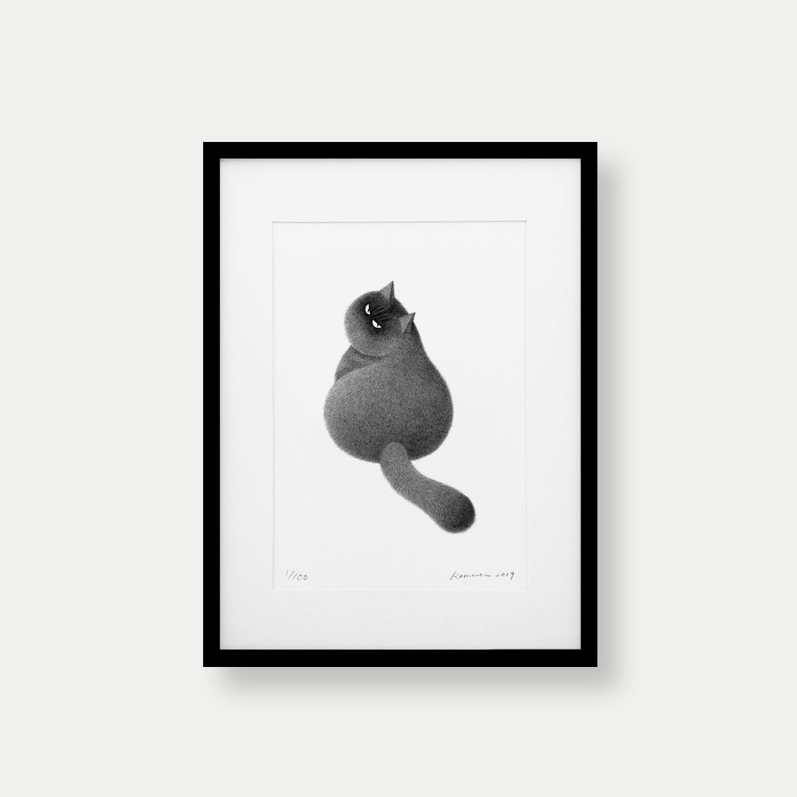 Image of Kitty No.36 – A3 Limited Edition Print