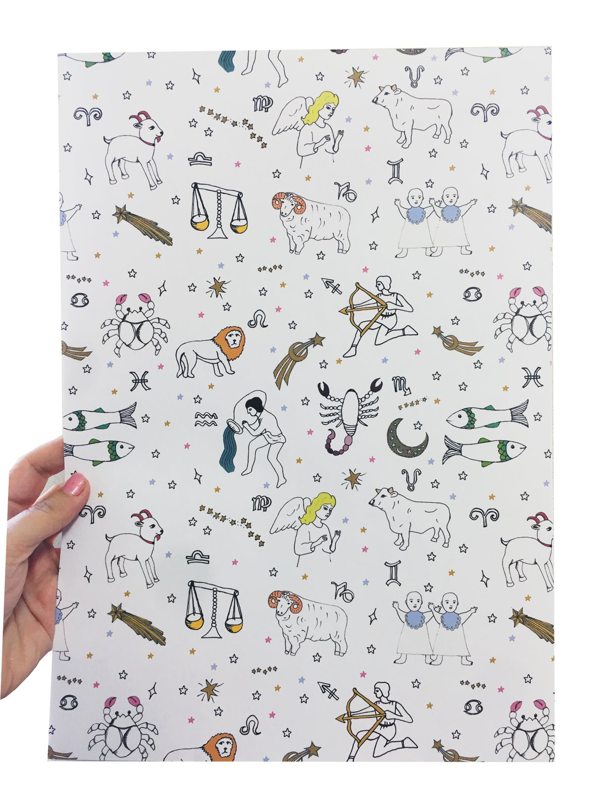 Zodiac Wrapping Paper