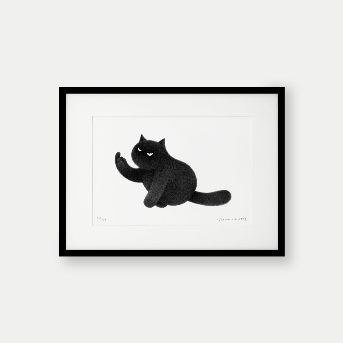 Image of Kitty No.38 – A4 Limited Edition Print