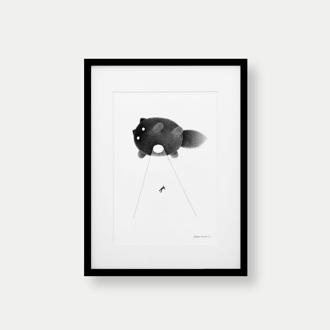 Image of Kitty No.62 – A4 Open Edition Print