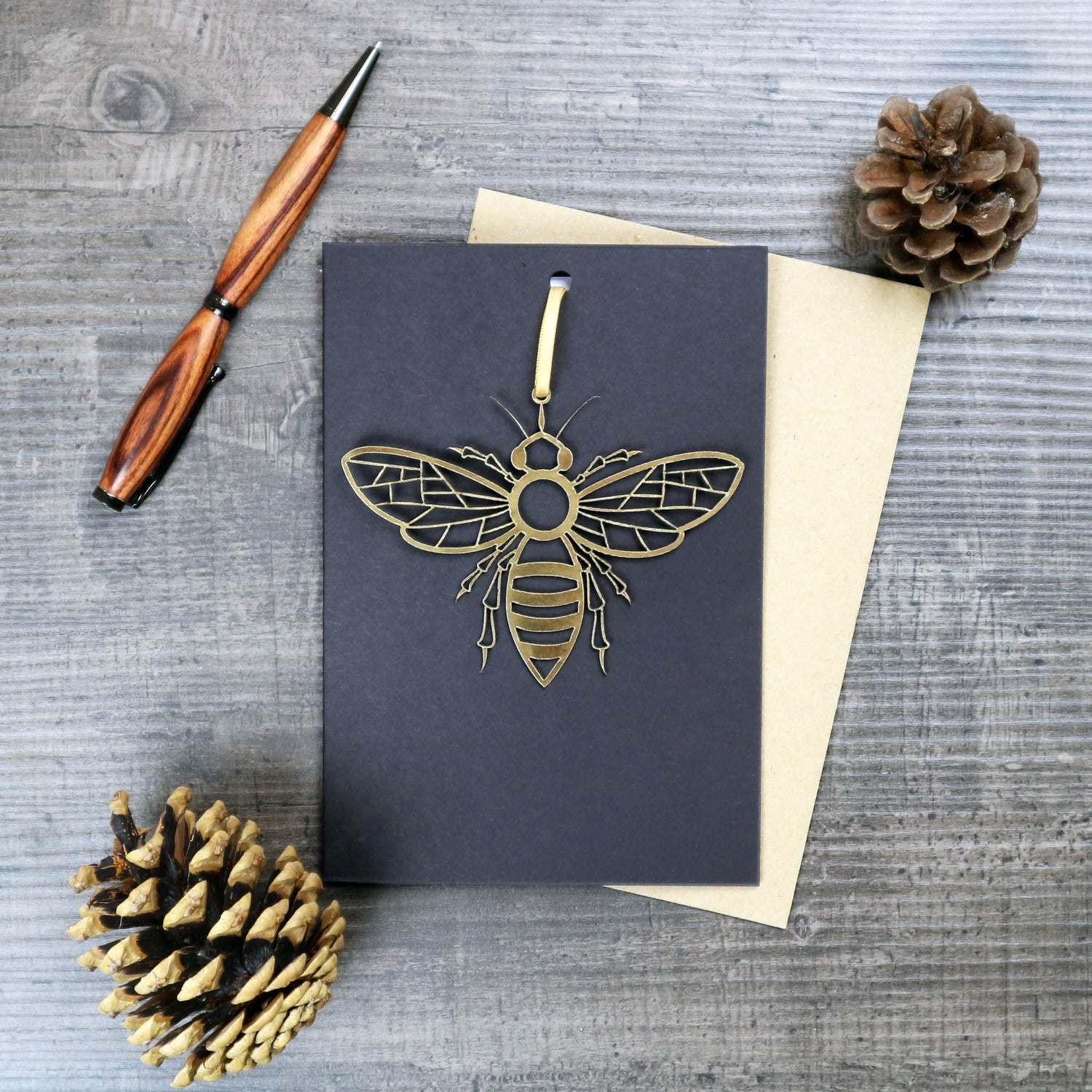 Image of Manchester Bee keepsake and card