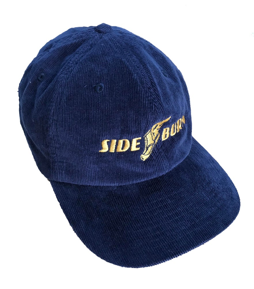Image of Wingboot Cord Cap - Navy