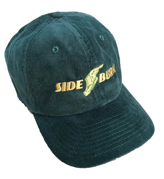 Image of Wingboot Cord Cap - Green ONE LEFT