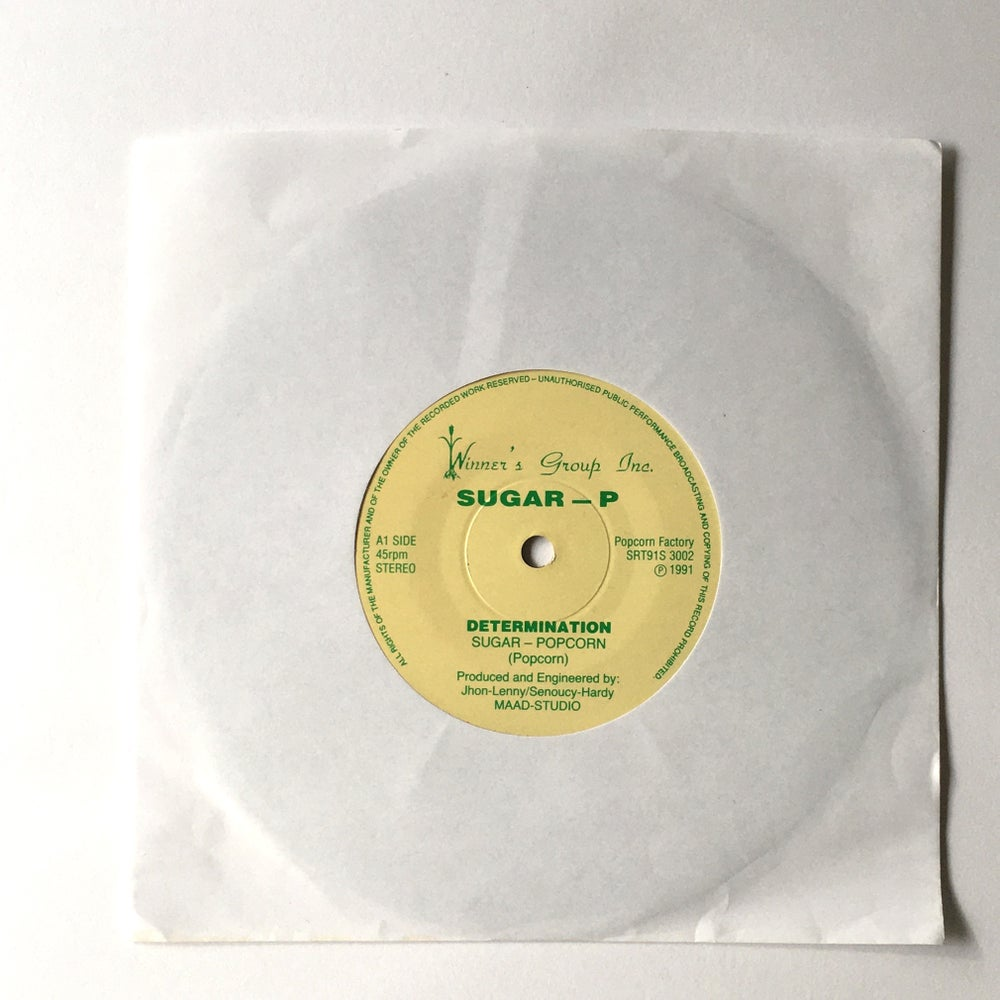 Image of SUGAR P - DETERMINATION 7""