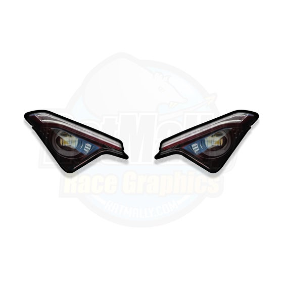 Image of Headlight Stickers to fit Ducati Panigale V2 & V4