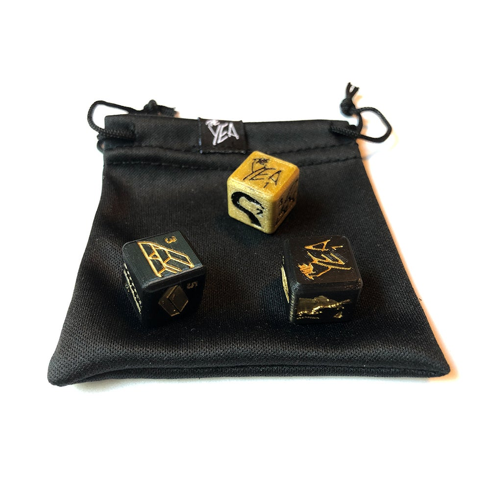 Image of 3D Printed Game Dice
